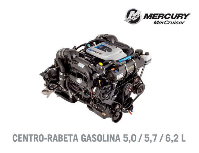 mercury, mercruiser, motor, centro rabeta