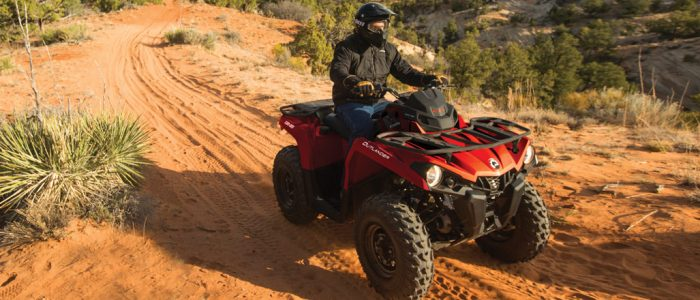 outlander 570, can-am, atv, quadriciclo, sanautica