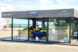 Sanáutica inova com espaço voltado para Azimut Yachts em Joinville