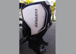 Evinrude, G2, 150 HP, semi-novo, motor de popa, 2016