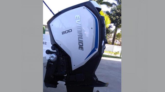 Evinrude G2, 200 HP, 2019, motor de popa, garantia