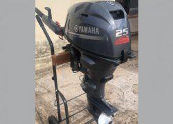 motor de popa, Ymaha 25 HP, 4 tempos, injeção eletrônica, 2020